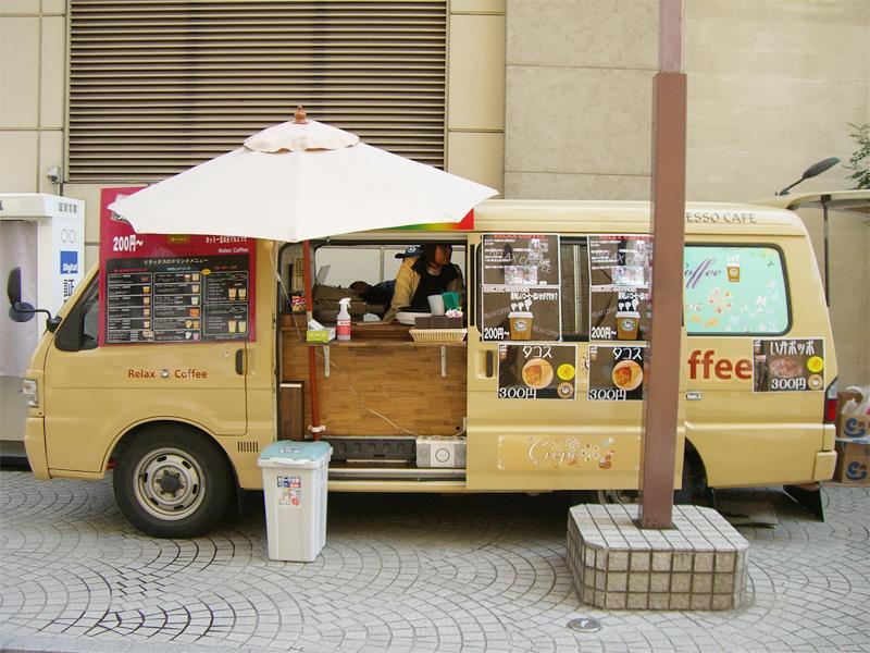 移動販売カフェ