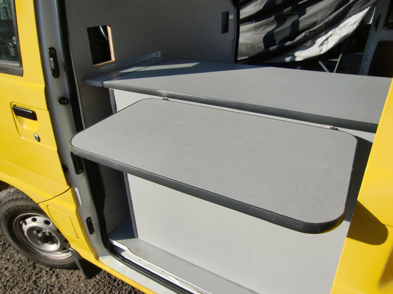 スバルサンバートラックの内装の写真その7