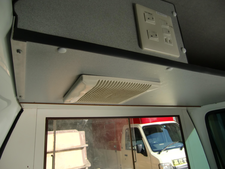 スバルサンバートラックの内装の写真その5
