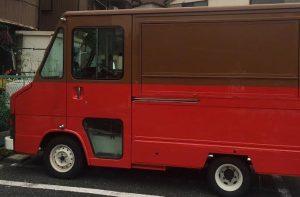 アーバンサポーターの移動販売車の製作