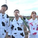 お笑いコンビの和牛がキッチンカーの旅