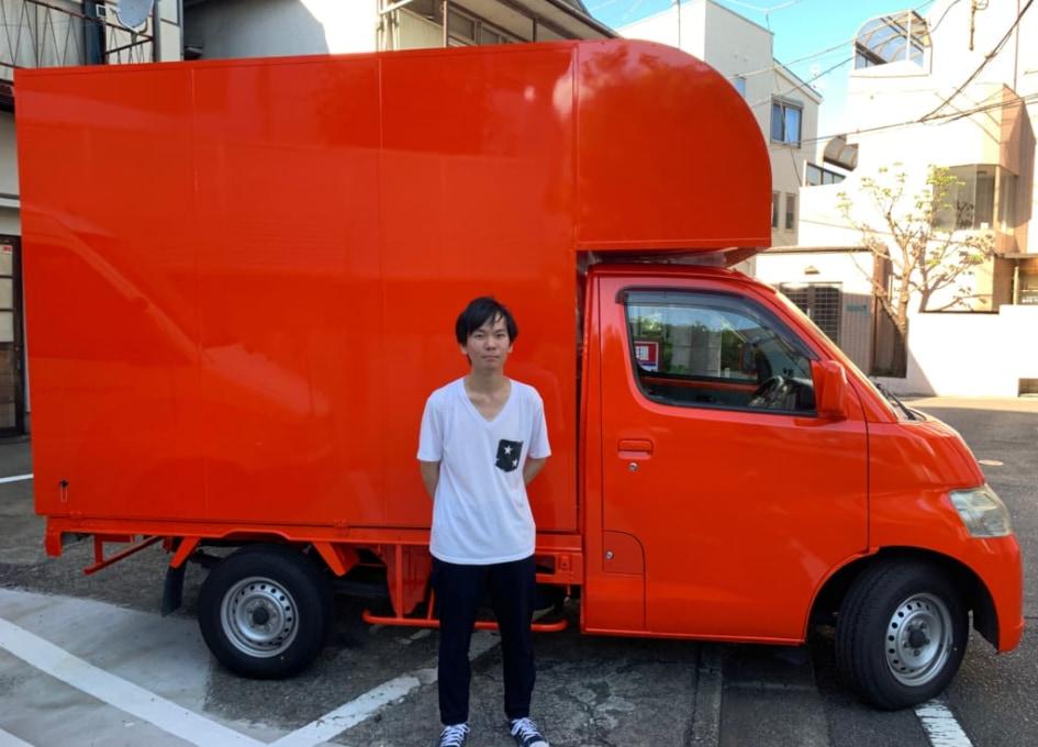 千葉県千葉市の関口様ののキッチンカー