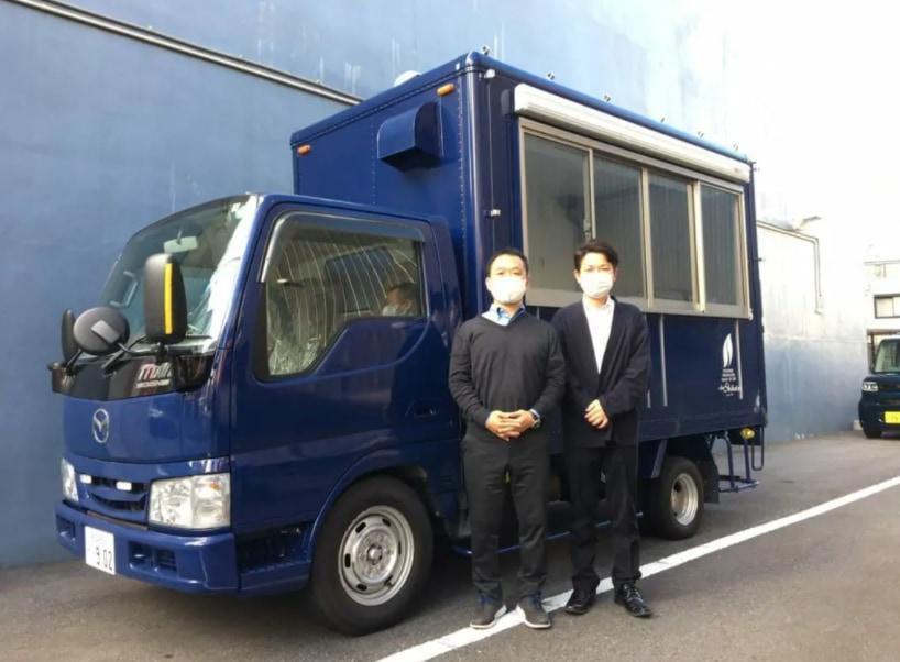 愛知県春日井市の株式会社トワ・フレール・シバタ・ジャパン様の「フレンチトースト」キッチンカー