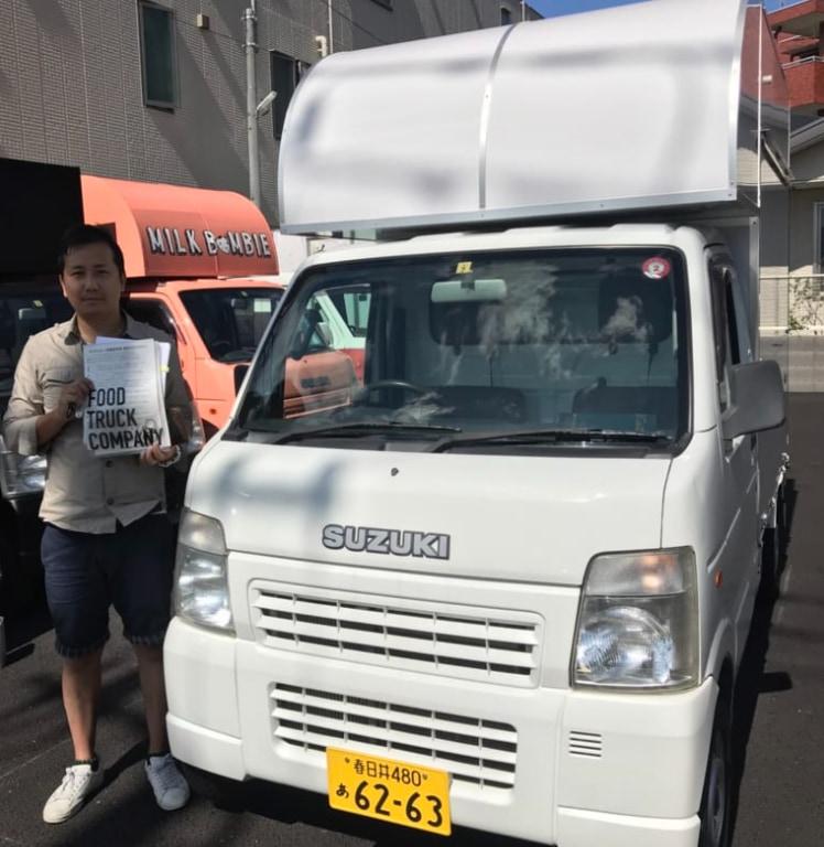 愛知県春日井市のNIS株式会社様のキッチンカー