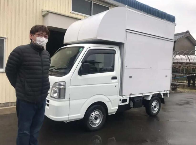 愛知県豊川市の中根様の「だし巻き」のキッチンカー