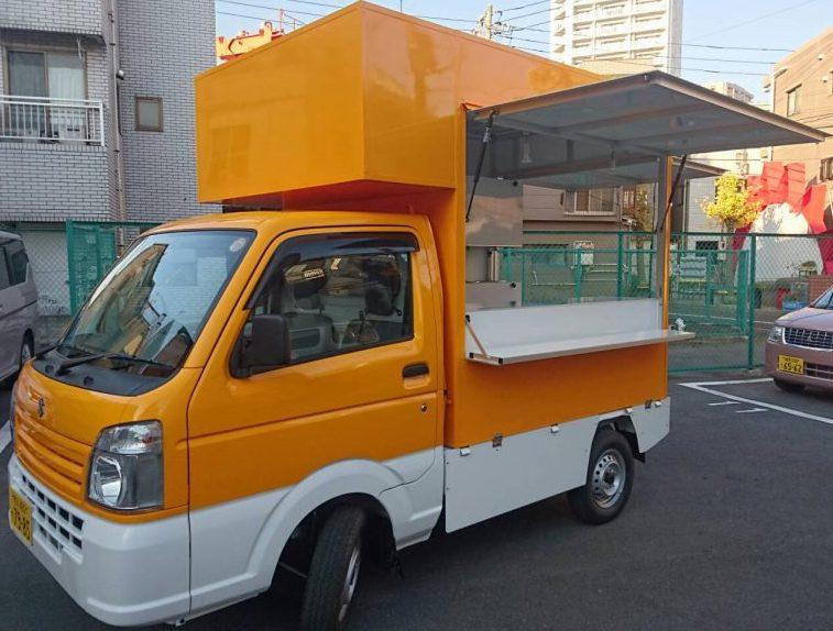 軽トラック・スタンダード_一番人気の定番キッチンカー(移動販売車)