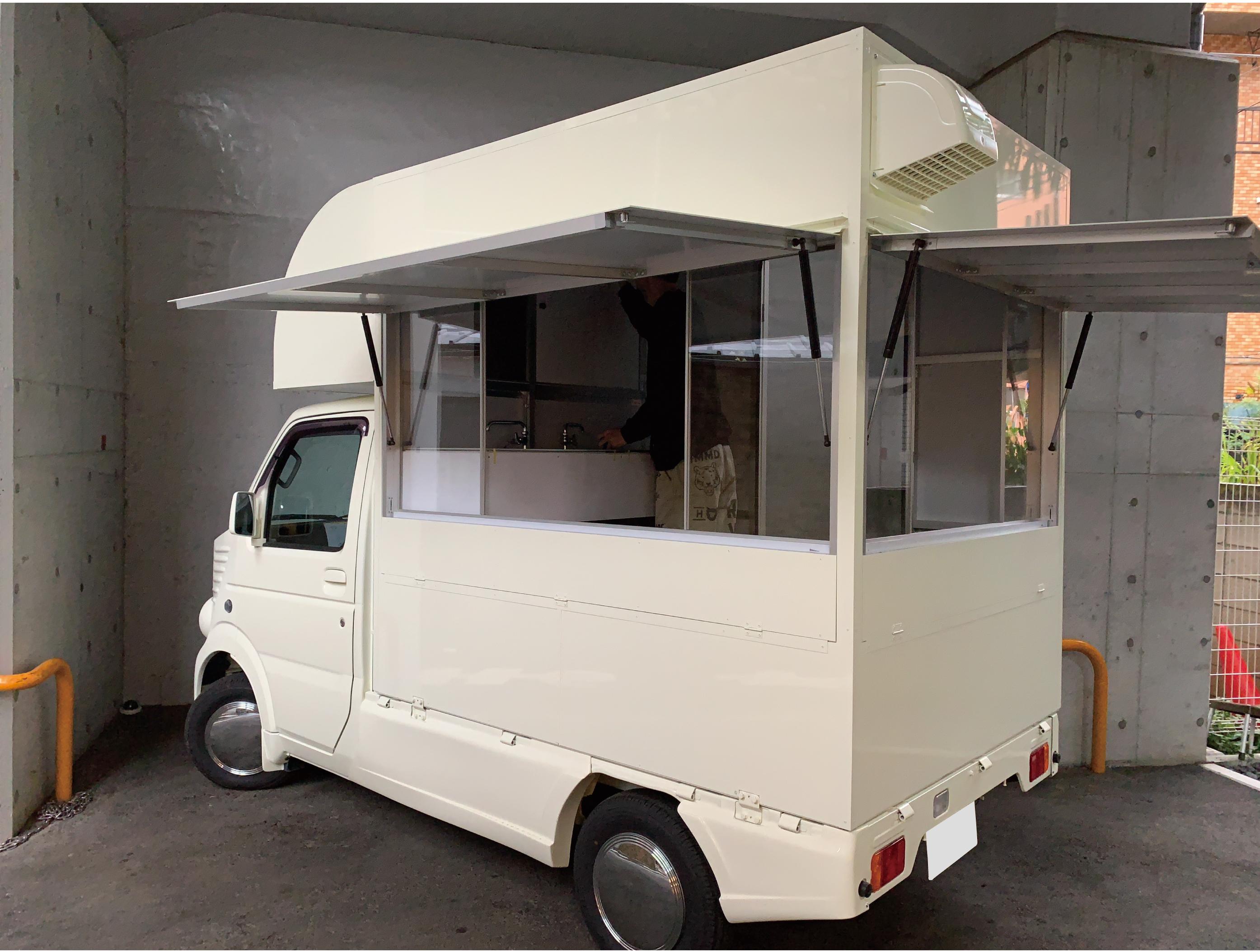 キッチンカーモデル3
