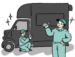短納期て・低価格で提供されるキッチンカー・移動販売車