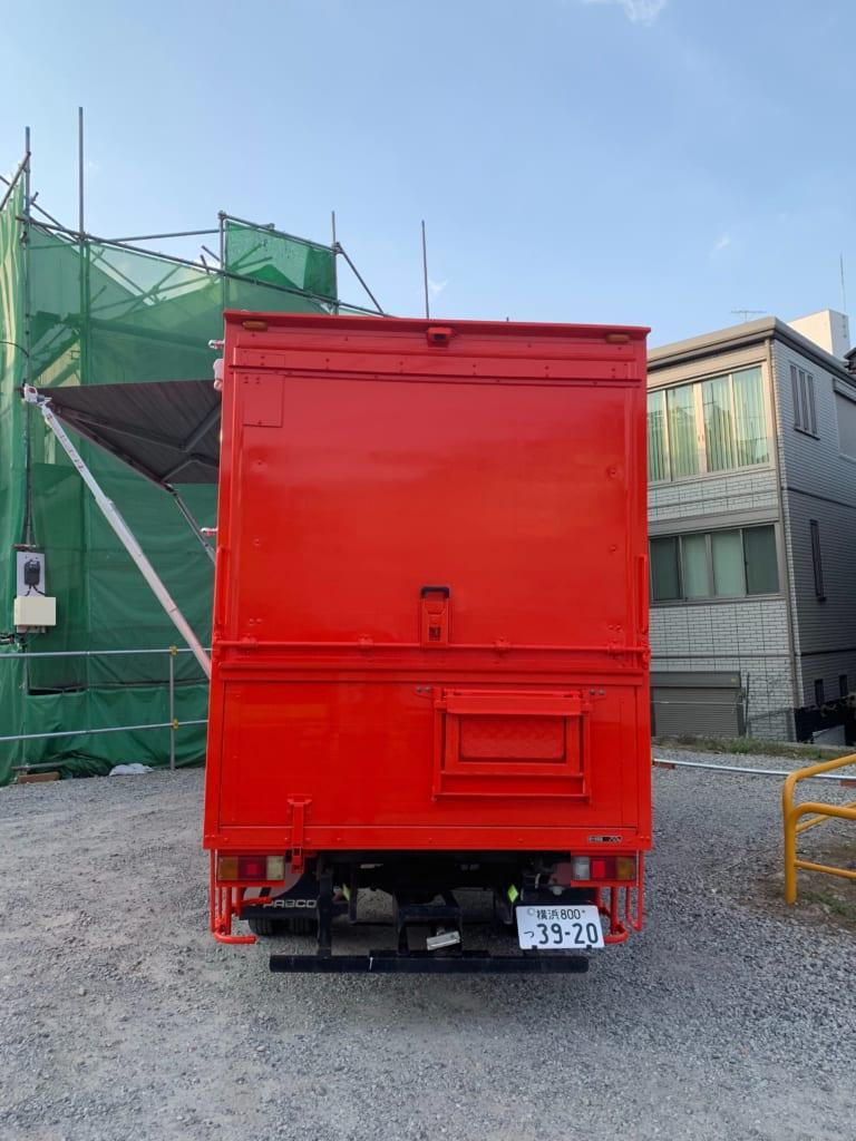 5624cf4b74 神奈川県の吉原いちご園様のキッチンカー(移動販売車)を製作しました ...