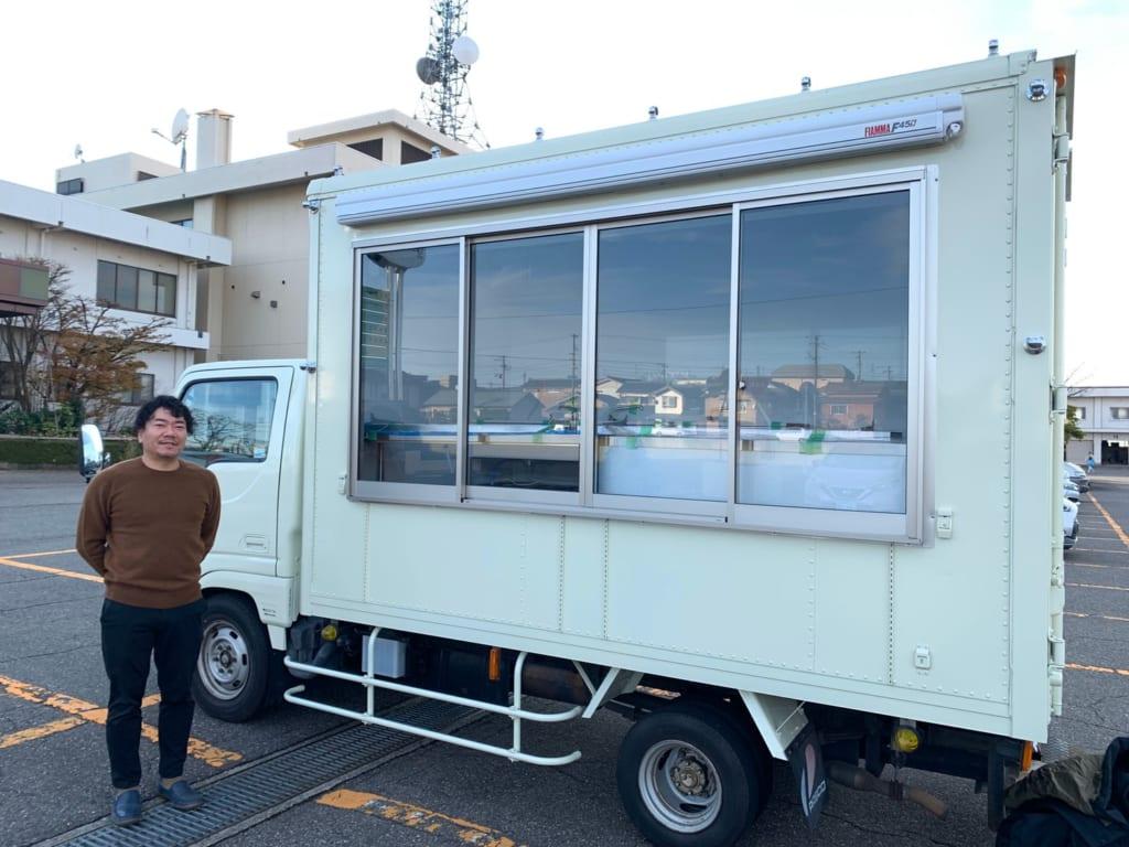 新潟県の牛腸様にキッチントラック1500を製作させていただきました。