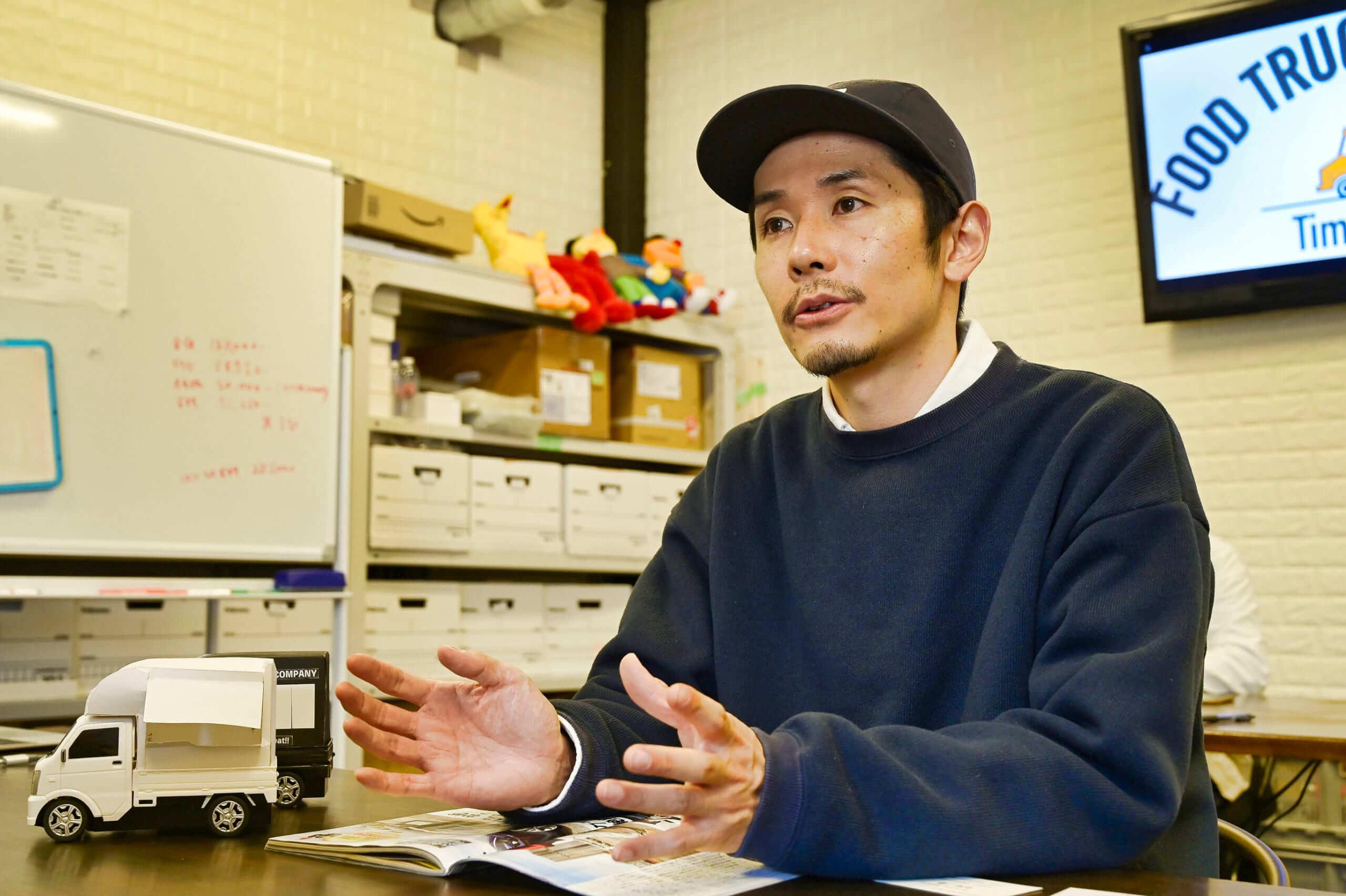 株式会社フードトラックカンパニー 代表取締役 浅葉郁男